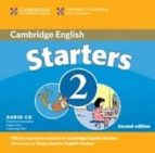 Cambridge Young Learners English Test Starters 2 : Audio Cd