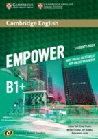 Cambridge English Empower For Spanish Speakers B1+ Student S Book With Online Assessment And Practice And Online Workbook